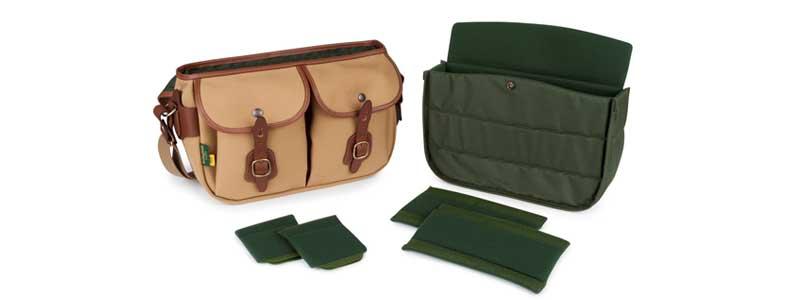 Billingham Hadley Pro 2020 open with dividers
