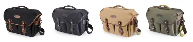 Range of Handley One camera bags