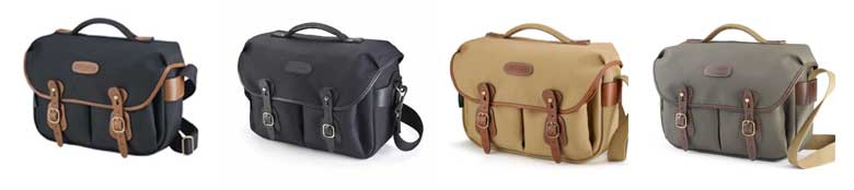 Range of Handley Pro camera bags