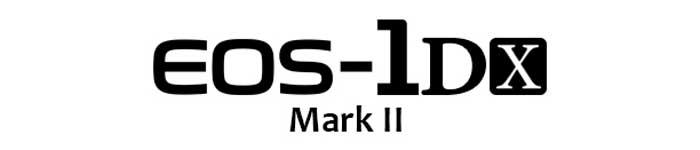 Canon EOS 1DX Mark II Logo