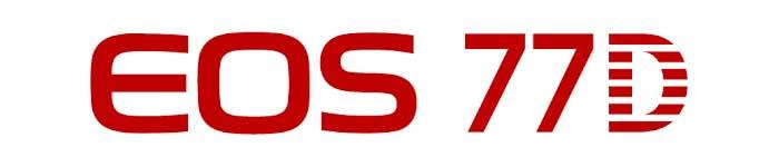 Canon 77D Logo