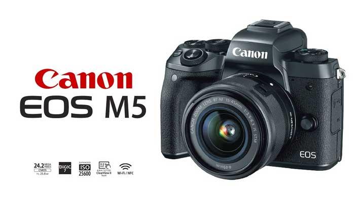 Canon EOS M5 Logo