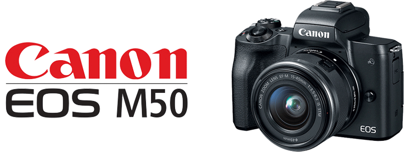 Canon M50 Logo