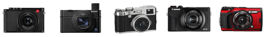 Compact Cameras from Harrison Cameras