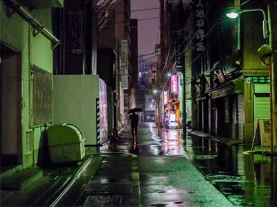 Asian urban photo shop by the Fujifilm GFX 50S