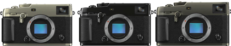 3 Fujifilm X-Pro 3 Camera lined up