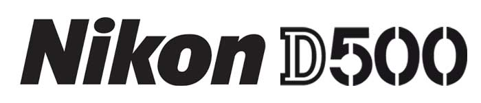 Nikon D500 Logo