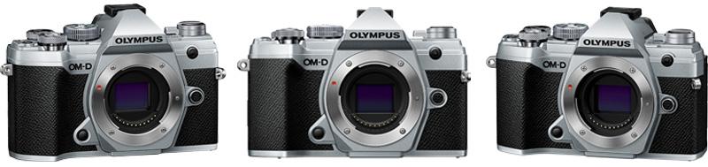 Olympus EM5 III in silver
