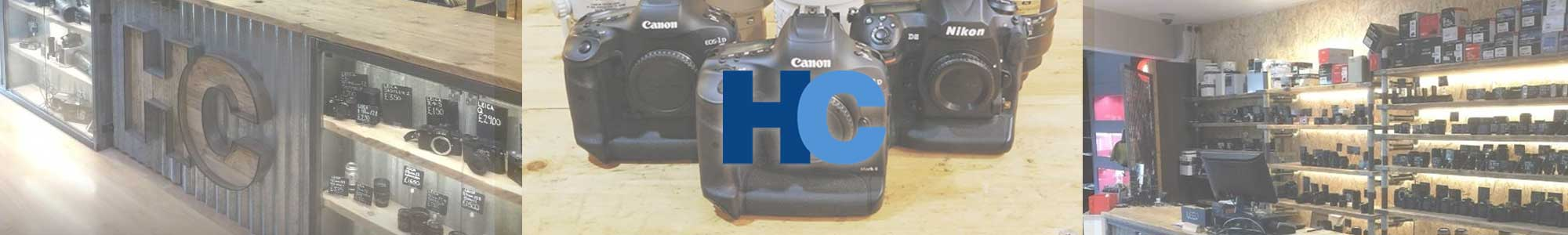 Sell your camera equipment with Harrison Cameras