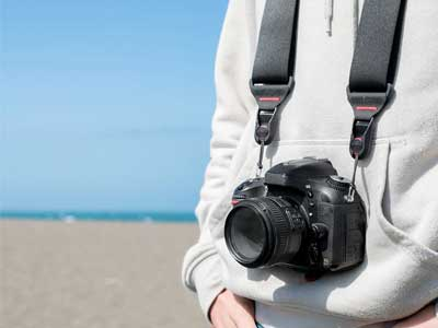 Peak design black camera strap
