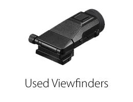 Used viewfinder
