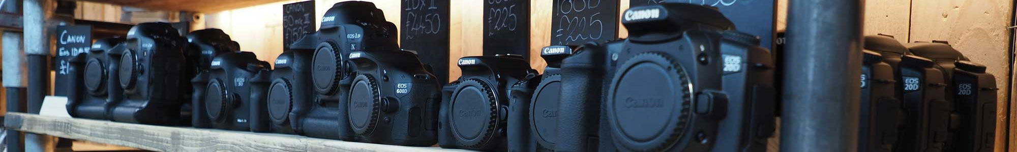 Used cameras from Harrison Cameras