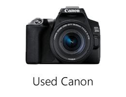 Used Canon camera