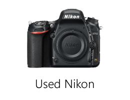 Used Nikon camera