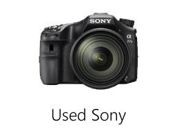 Used Sony camera