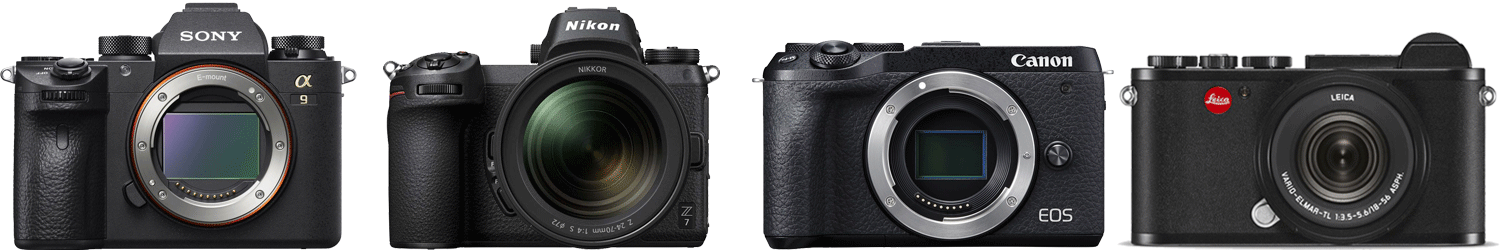 Mirrorless Cameras from Harrison Cameras