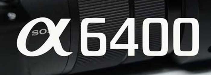 Sony A6400 Logo